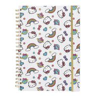 Hello Kitty All Over Print Softcover Project Notebook White A4