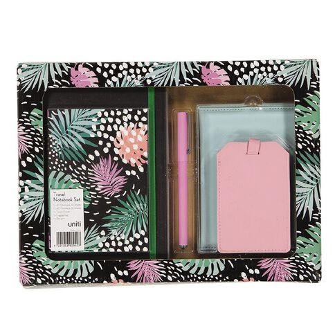 Uniti Fun & Funky Travel Gift Set In Gift Window Box 5 Pieces