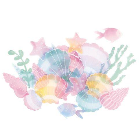 Rosie's Studio Make a Splash Vellum Seashell Diecuts 24 Piece
