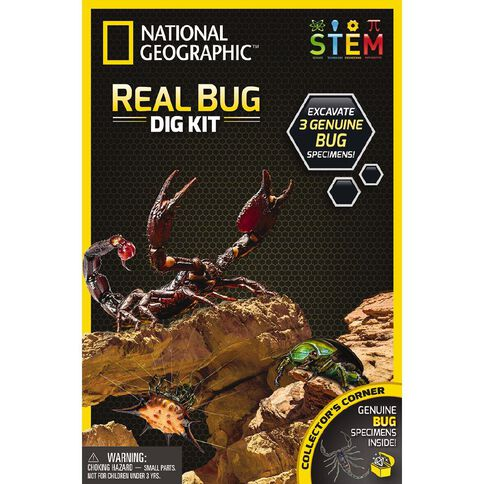 National Geographic Dig Kit Assorted