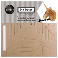 Rosie's Studio DIY Decor Unicorn