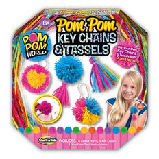 Creative Kids Pom Pom World Key Chains & Tassels