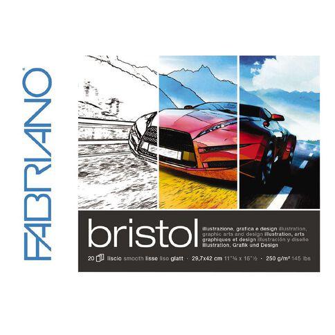 Fabriano Bristol Pad 250gsm A3