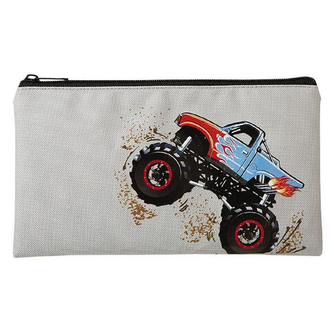 WS Flat Pencil Case Truck