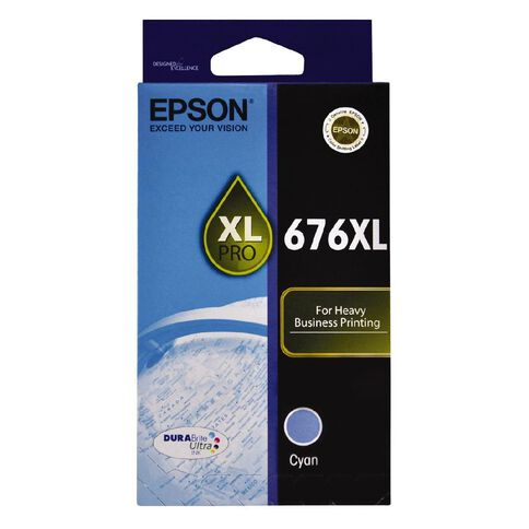 Epson Ink 676XL Cyan (1200 Pages)