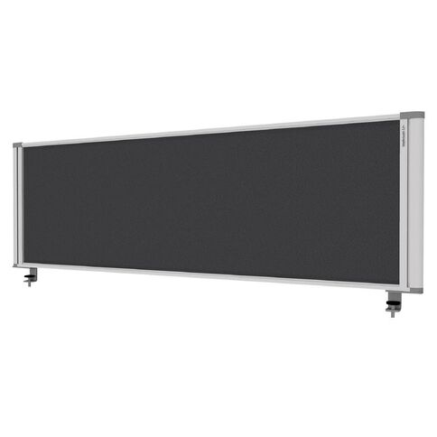 Boyd Visuals Desk Mounted Partition 1460W Grey