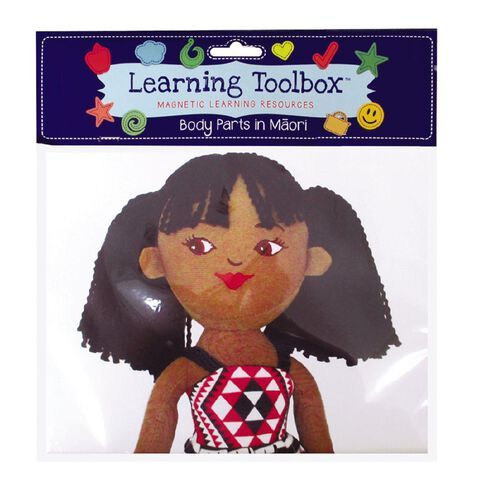 Learning Tool Box Magnetic Maori Body Parts Assorted