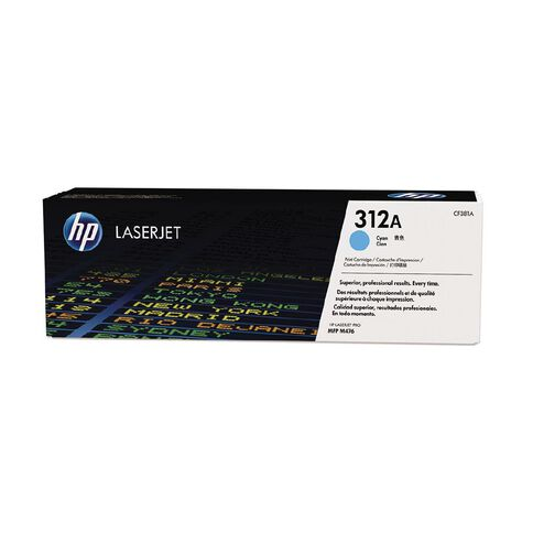HP 312A Cyan Contract LaserJet Toner Cartridge (2700 Pages)
