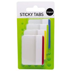 WS Coloured Sticky Tabs 38mm x 50mm 6 Sheet 4 Pack