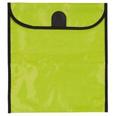 GBP Stationery Book Bag Zipper Pocket Green 370mm x 335mm