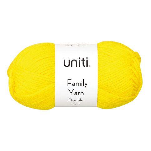 Uniti Yarn Family Double Knit Yellow 50g