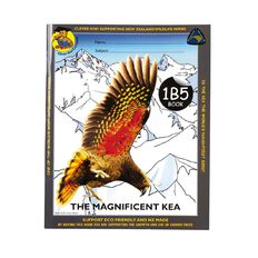 Clever Kiwi Kea 1B5 Book Ruled 7mm Multi-Coloured