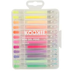 Kookie Mini Gel Pens 24 Pack