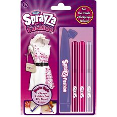 Sprayza Fashion Fabric Marker Kit Hearts Style