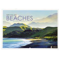 John Sands 2021 Calendar New Zealand Beaches 222mm x 315mm