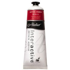 Atelier S3 Napthol Crimson 80ml Red 80ml