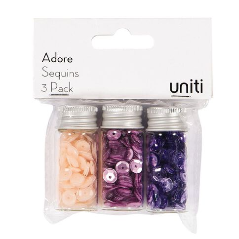 Uniti Adore Sequins 3 Pack