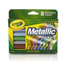 Crayola Metallic Markers 8 Pack 8 Pack
