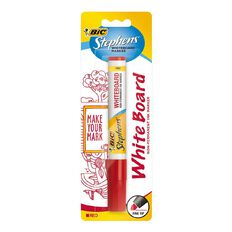 Stephens Fine Whiteboard Marker Red