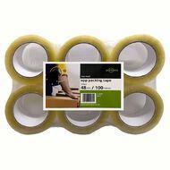 Clear OPP Hot Melt Packaging Tape 48mm x 100m