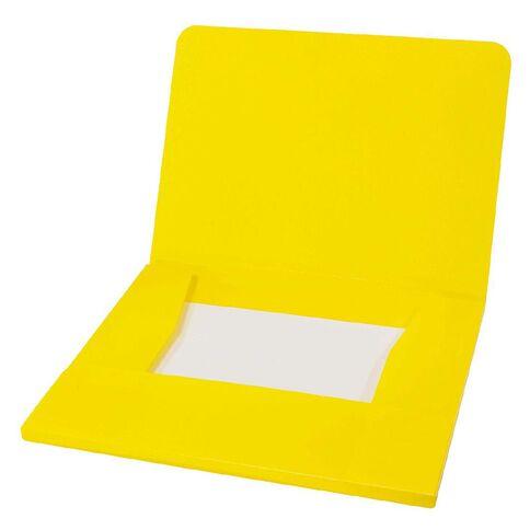 Impact Wallet PP Elastic Yellow A4