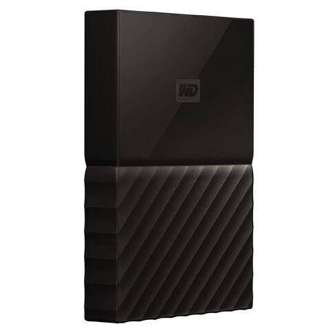 WD My Passport 2TB USB 3.0 External HDD Black