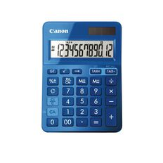 Canon LS-123K Desktop Calculator Blue