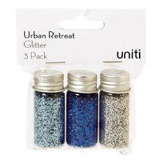 Uniti Urban Retreat Glitter 3 Pack