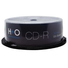 H+O Cd-R 52X 700 Mb 25-Pack