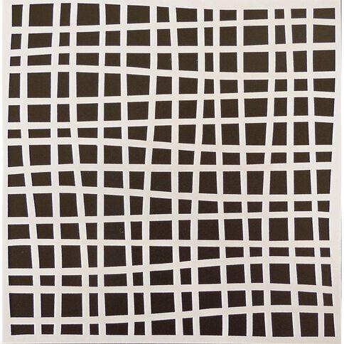 Fivestar Stencil Lines 15cm x 15cm