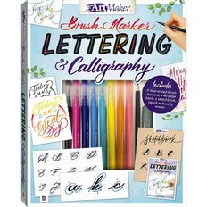 Artmaker Brush Marker Lettering & Calligraphy Kit