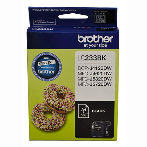 Brother Ink LC233 Black (550 pages)