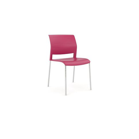 Game Chrome Chair Red Red
