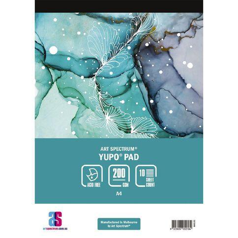 Art Spectrum Yupo Pad 200g 10 Sheets A4