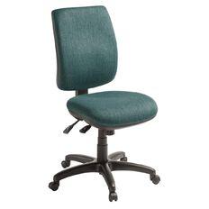 Eden Sport 3 Lever Highback Ergonomic Chair Atlantic