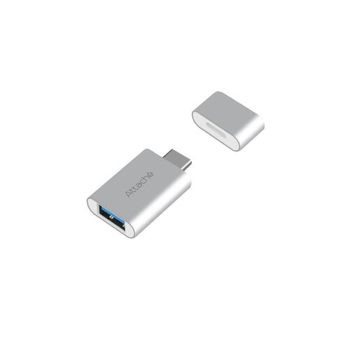 mbeat Attache USB Type-C To USB 3.1 Adapter Black