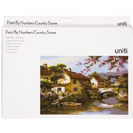 Uniti Paint by Numbers A3 Countryside