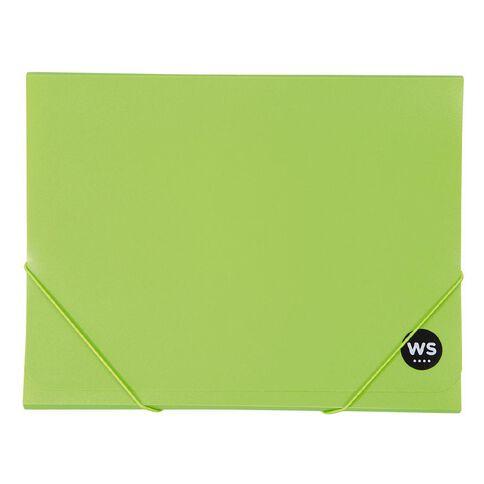 WS Wallet PP Elastic Green A4