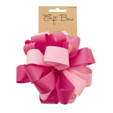 Duo Tone Bow Pink
