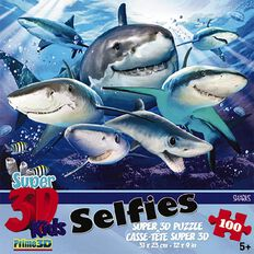 3D Selfies Puzzles Assorted