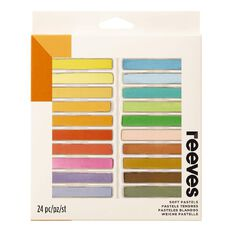 Reeves Soft Pastel Set 24 Piece