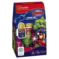 Kinnerton Avengers Mug & Egg 50g