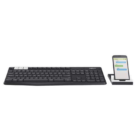 Logitech Bluetooth Multi Device Keyboard K375S Black