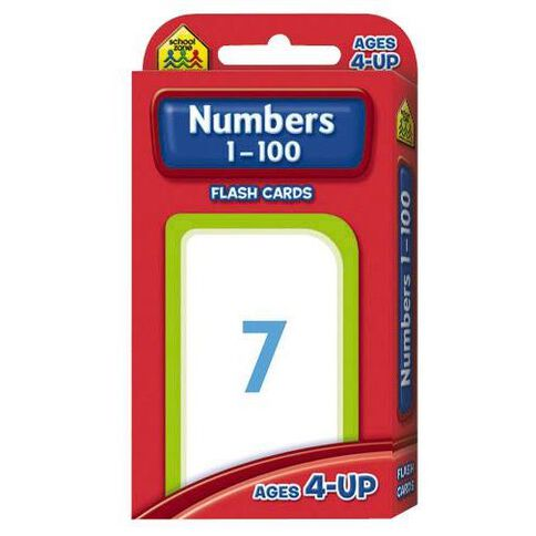 Flashcards Numbers 1-100 (4+) by Schoolzone