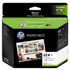 HP Ink 63 Photo Value Pack