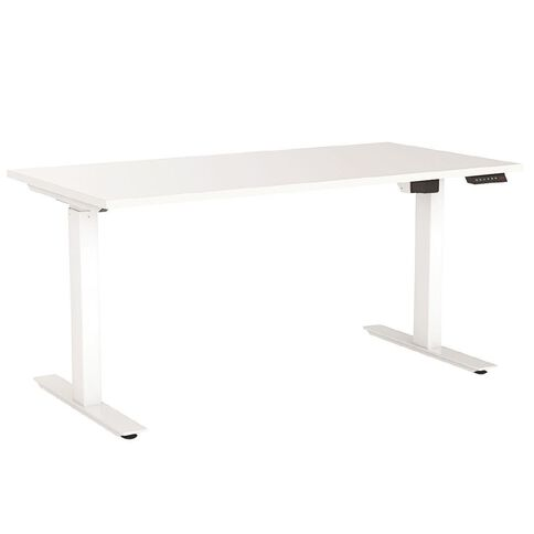 Agile Electric Height Adjustable Desk 1200 White