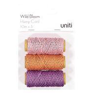 Uniti Wild Bloom Hemp Cord 3 Pack