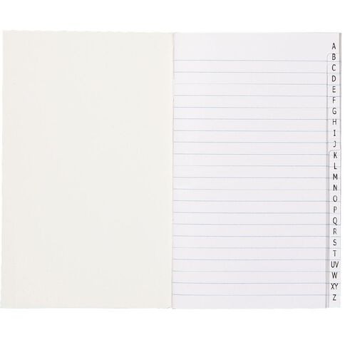 WS Note Book 5B1 Index 7mm 32 Leaf Red