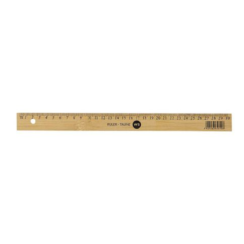 WS Ruler Bamboo 30cm