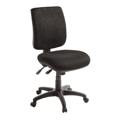 Eden Sport 3 Lever Midback Ergonomic Chair Ebony